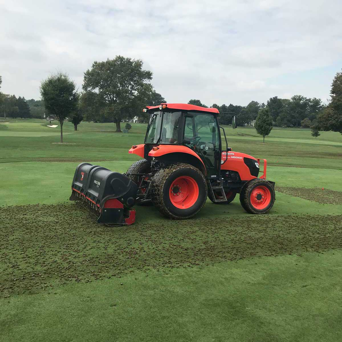 best golf course aerification services company in pennsylvania