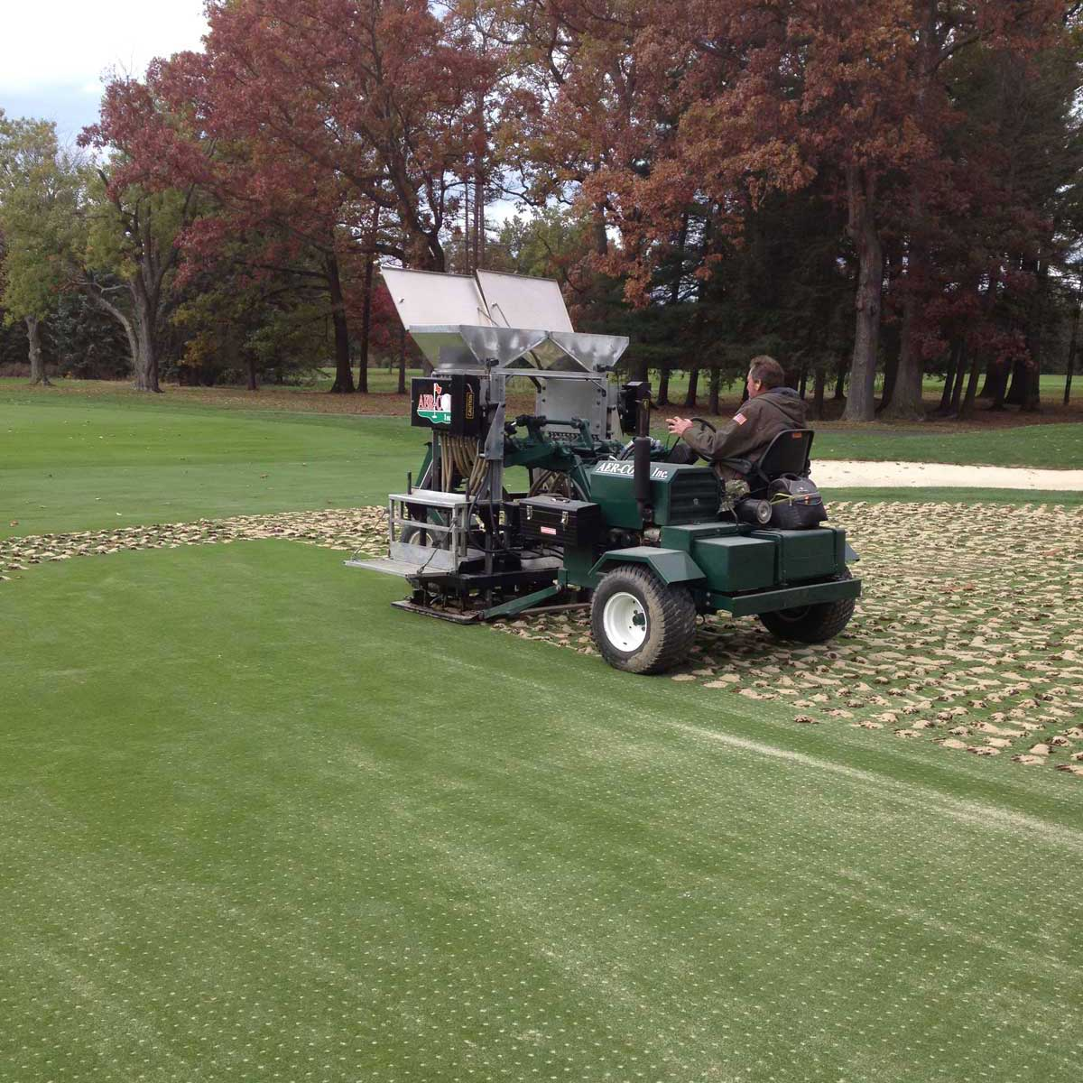drill and fill golf course services company