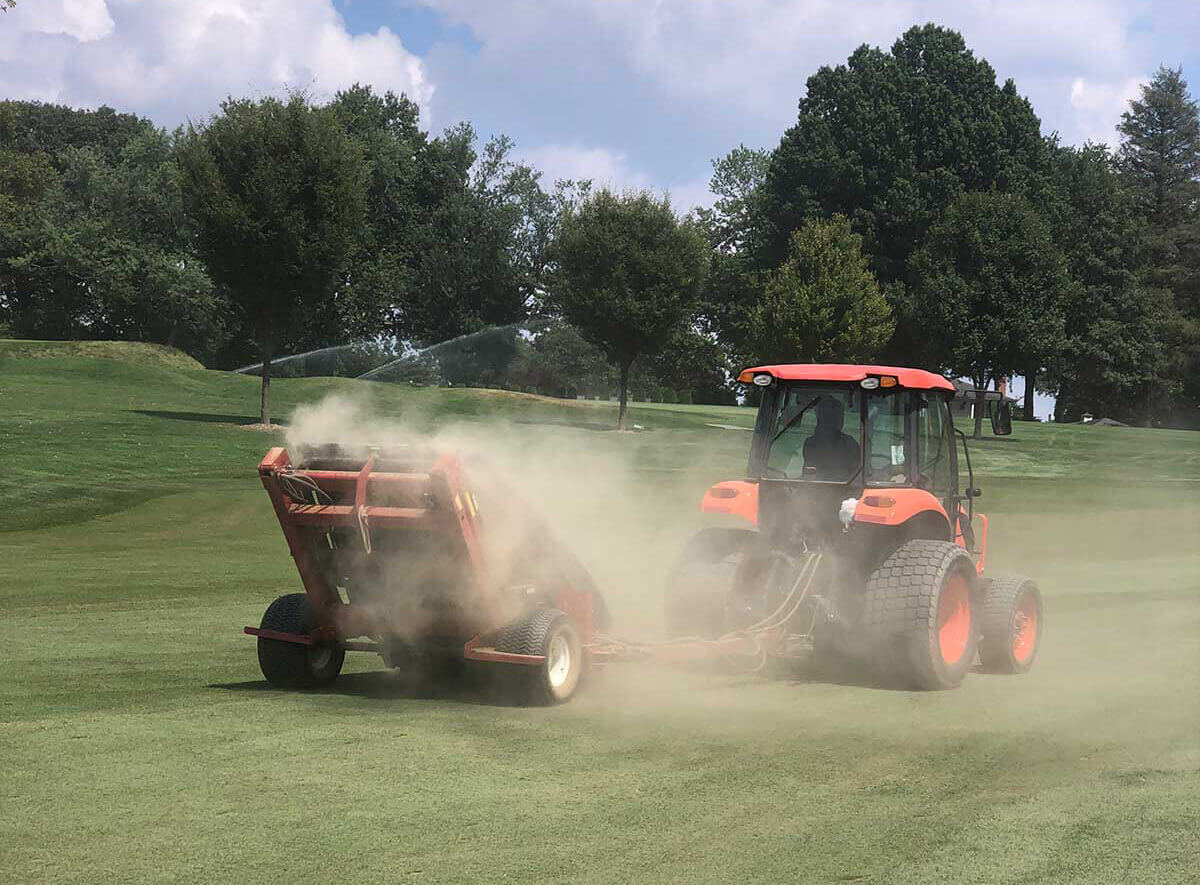 golf course fairway cleanup services company